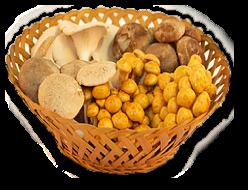 Bestel een<br> paddenstoelen<br> pakket